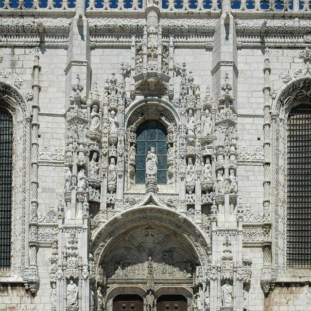 """""""Monastry of Jeronimos"""" stock image"""