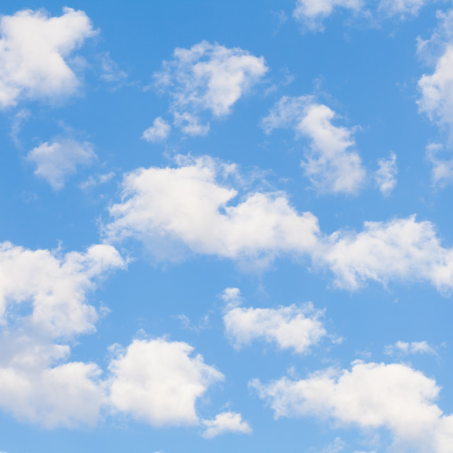 """""""Clouds with blue sky"""" stock image"""