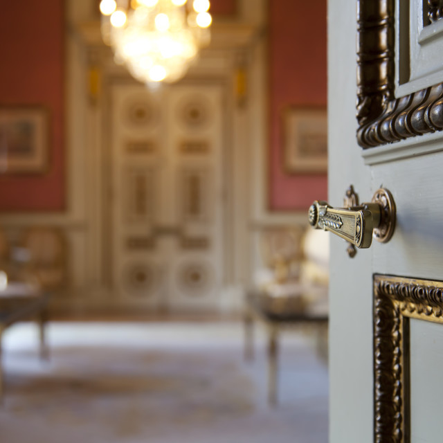 """""""Entry to palace"""" stock image"""