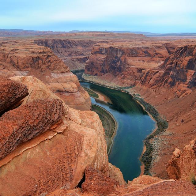"""Colorado River"" stock image"