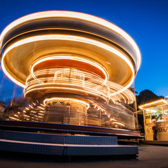 """Carousel, Paris France"" stock image"