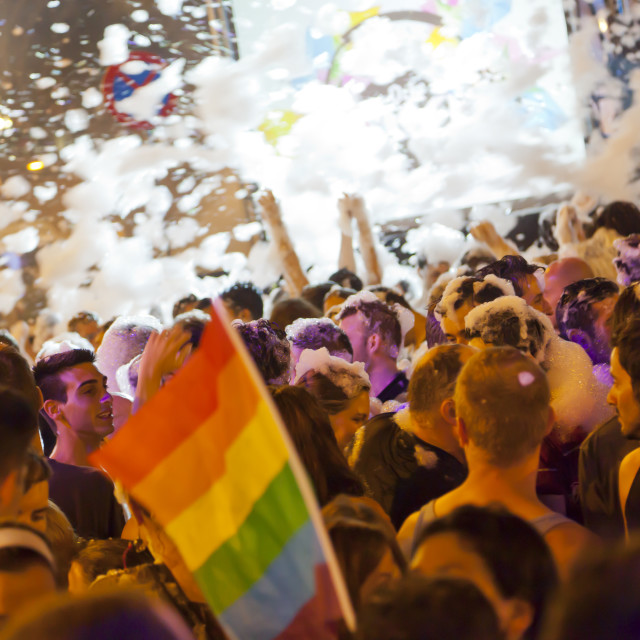 """""""Pride Parade 2012"""" stock image"""