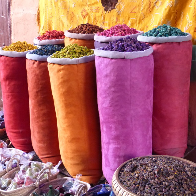 """Colours of the Maghreb"" stock image"