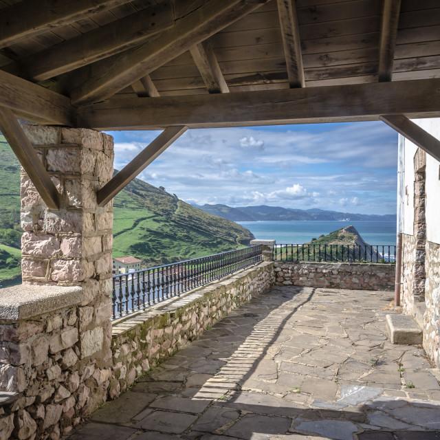 """San Telmo Hermitage, Spain"" stock image"