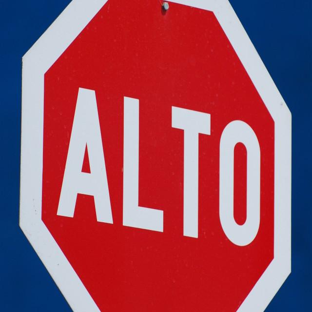 """Alto"" stock image"