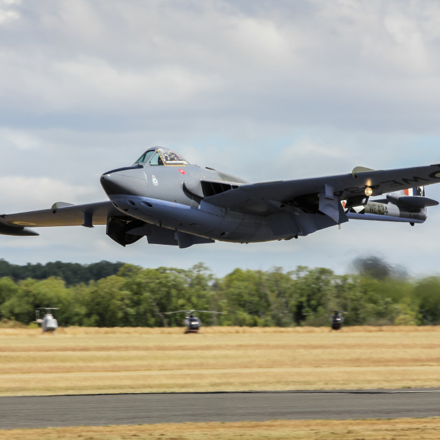 """""""de Havilland Venom"""" stock image"""