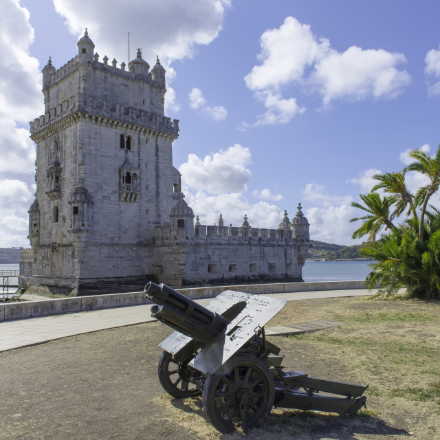 """Belem tower in Lisbon, Portugal"" stock image"
