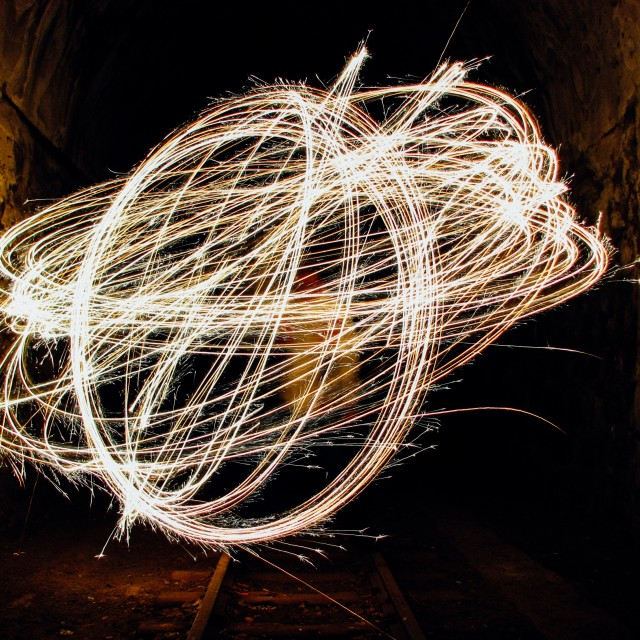 """Steel wool"" stock image"