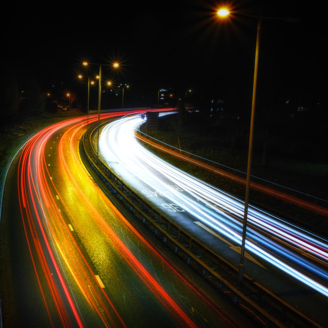 """Speed of Light"" stock image"