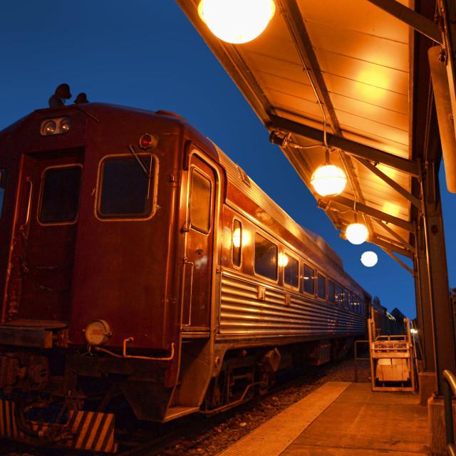 """vintage train"" stock image"