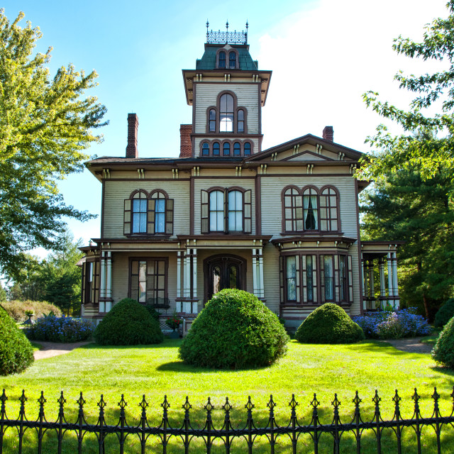 """""""Victorian home"""" stock image"""