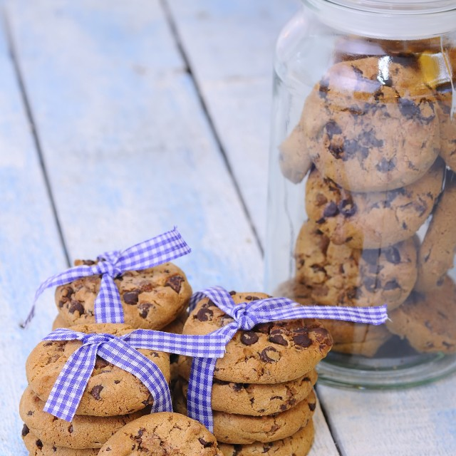 """Homemade cookies"" stock image"