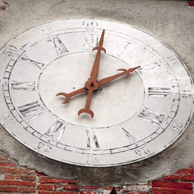 """""""Antique Clock"""" stock image"""
