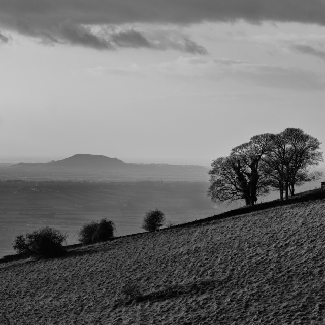 """""""Brent Knoll"""" stock image"""