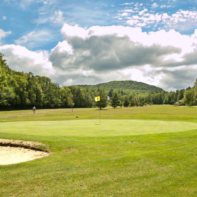 """Speculator golf course"" stock image"