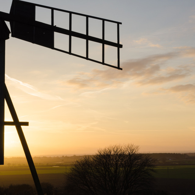 """""""Windmill view"""" stock image"""