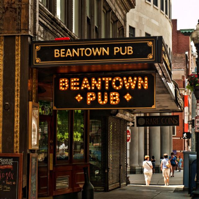 """Beantown Pub"" stock image"
