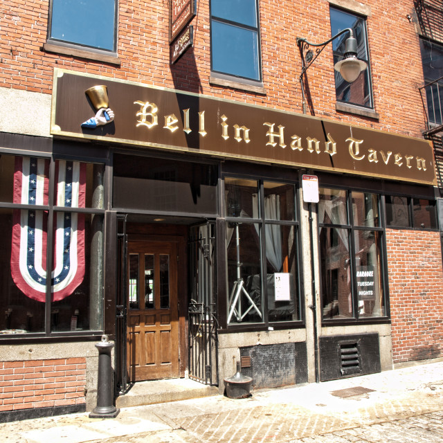 """""""Bell in Hand Tavern"""" stock image"""