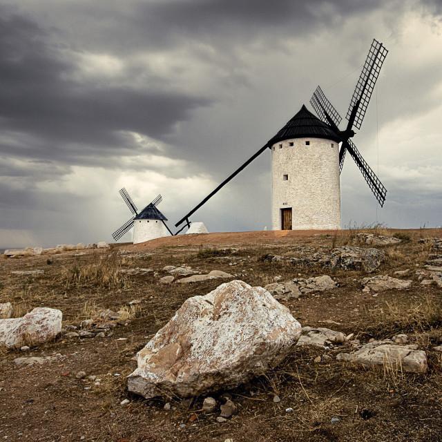 """windmills"" stock image"