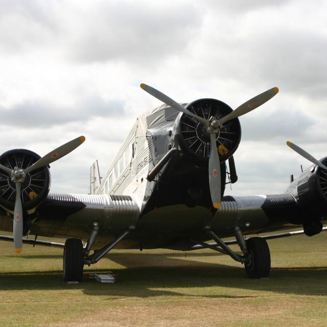 """Junkers Ju 52/3m D-AQUI"" stock image"