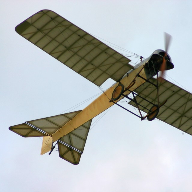 """1912 Blackburn Monoplane"" stock image"