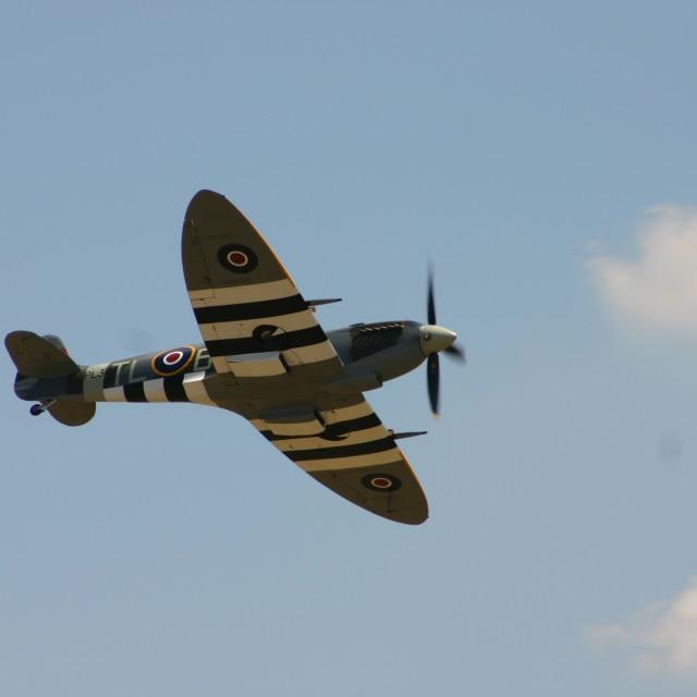"""Spitfire Mk.IX PL344"" stock image"