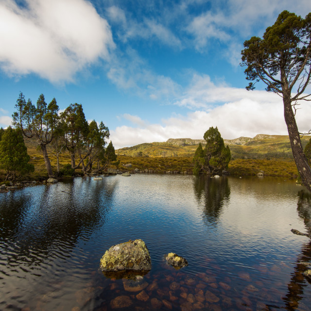 """The Tarn"" stock image"