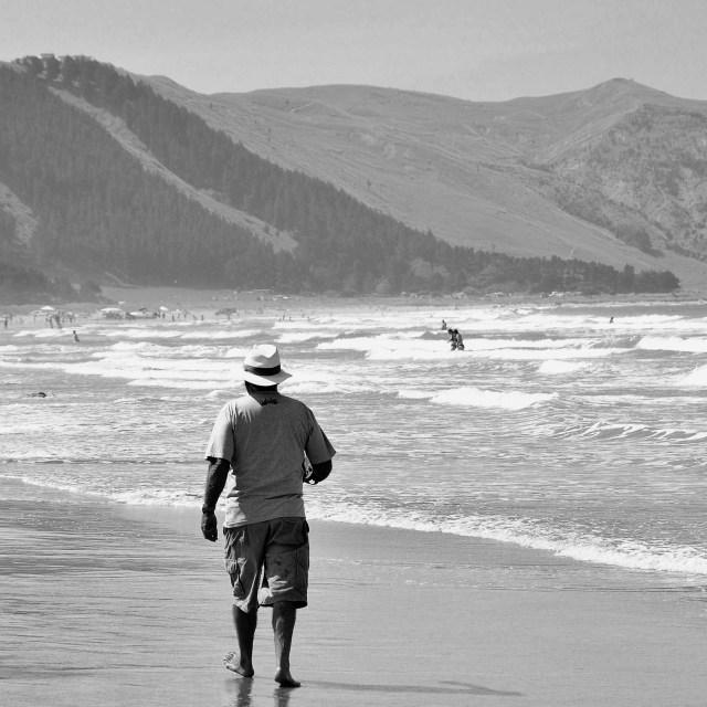 """Ocean Beach"" stock image"