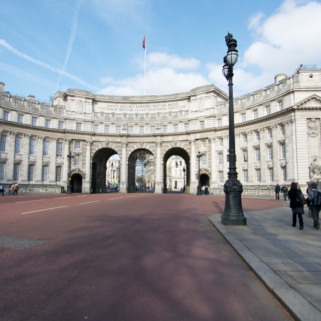 """Admiralty Arch in London, England"" stock image"