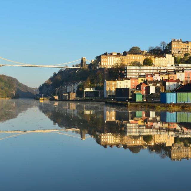 """Avon Gorge Bristol"" stock image"