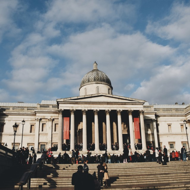 """National Gallery pt 1"" stock image"