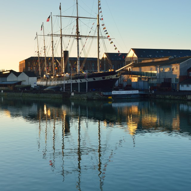 """SS Great Britain"" stock image"