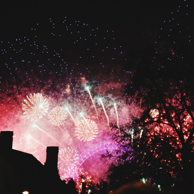 """""""New Years Eve pt 6"""" stock image"""