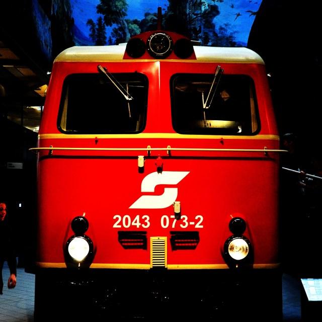 """Austrian Train"" stock image"