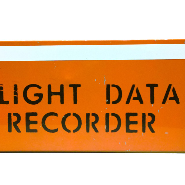 """flight data recorder"" stock image"