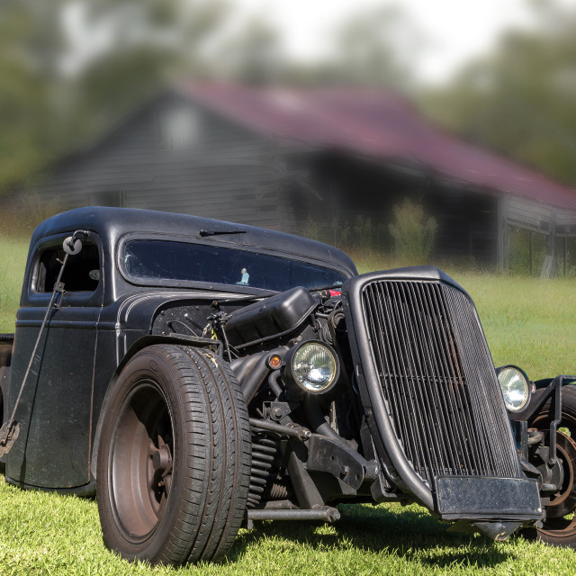 """Rat Rod"" stock image"