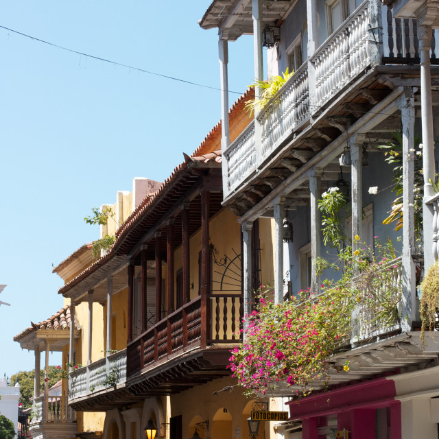 """cartagena architecture"" stock image"