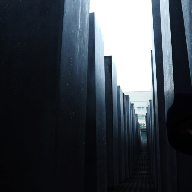 """HOLOCAUST WAR MEMORIAL. (Berlin, Germany)"" stock image"