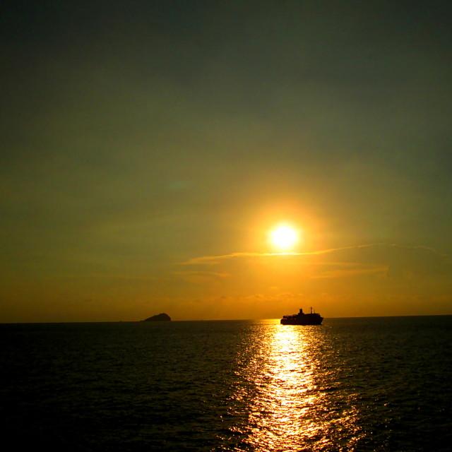 """Before Sunset"" stock image"