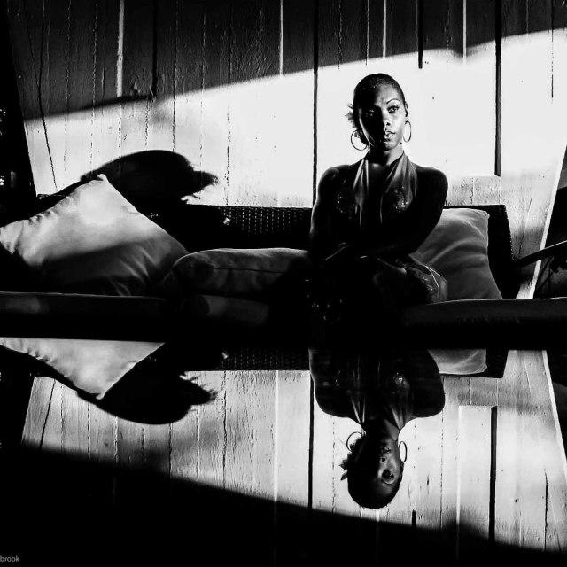 """Shadow Dancer"" stock image"