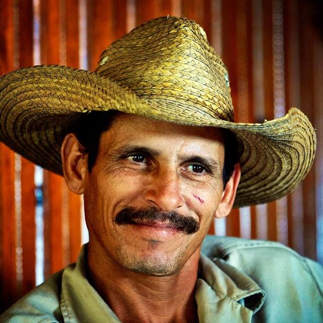 """""""Cuban Cowboy"""" stock image"""