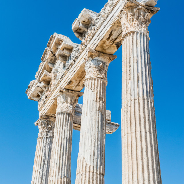 """The Temple of Apollo"" stock image"