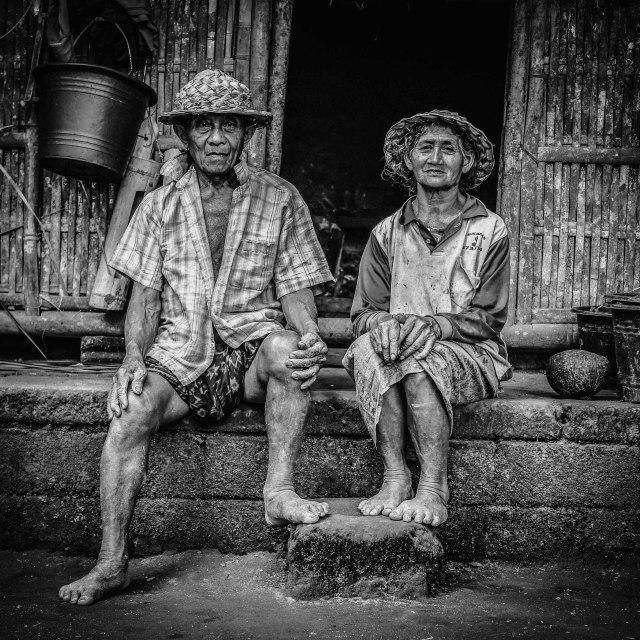 """Bali Family"" stock image"