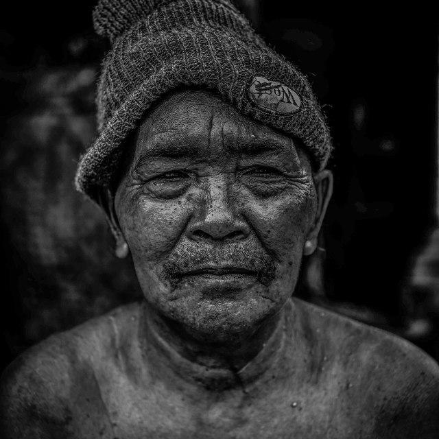 """Bali Portrait"" stock image"