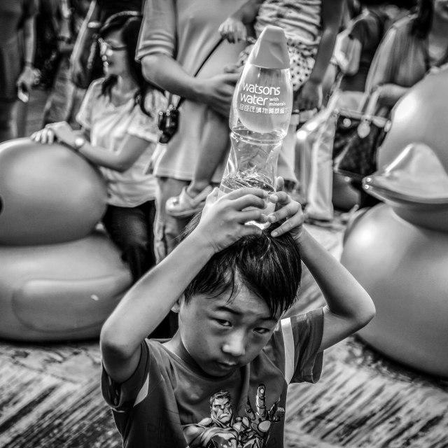 """Water Boy"" stock image"
