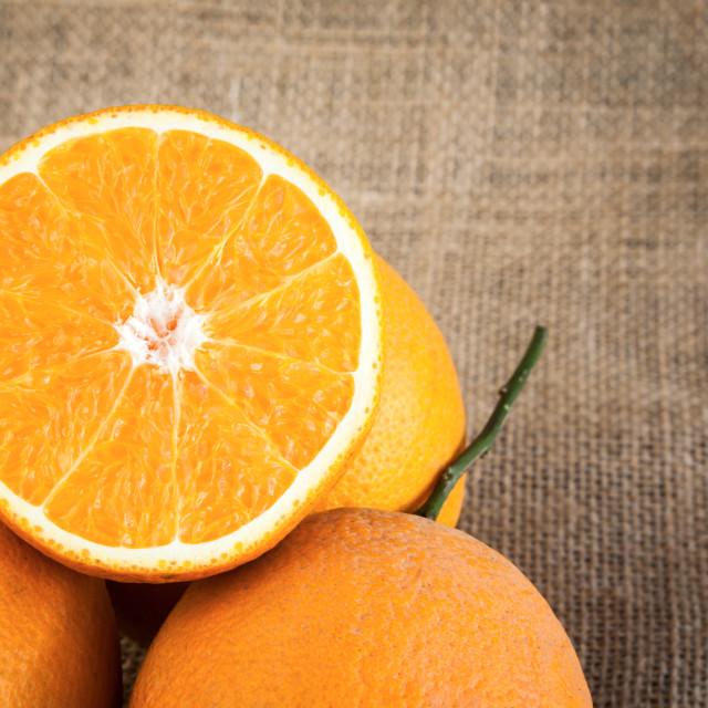 """""""Oranges fresh"""" stock image"""