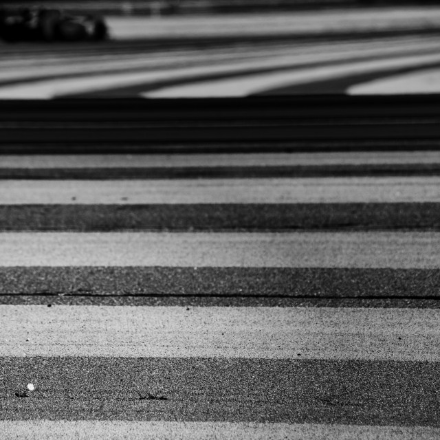 """Circuit Paul Ricard - Mono"" stock image"