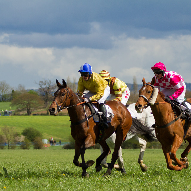 """Point to Point Racing"" stock image"