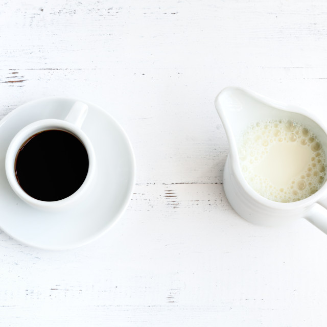 """""""coffee and milk cup"""" stock image"""