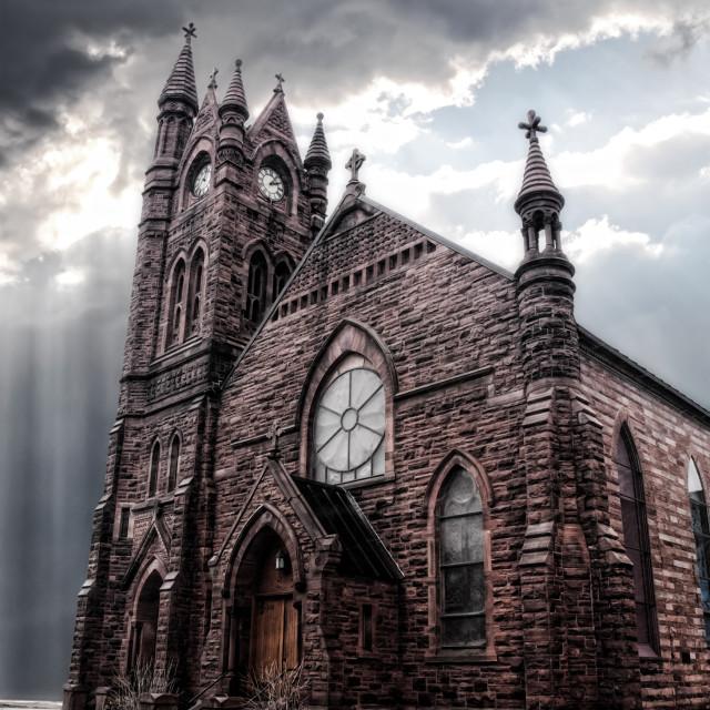 """gothic church"" stock image"